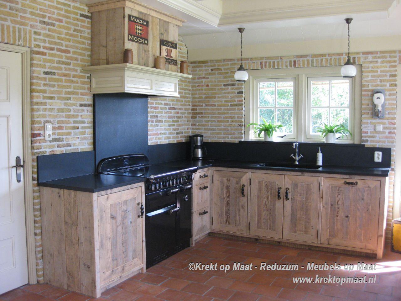 Keuken Op Maat Maken : Krekt_op_Maat_keuken_renovatie_steigerhout_op_maat_natuursteen
