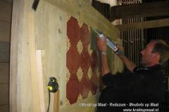 Krekt_op_Maat_tafel_castello_tegels_steigerhout_vakwerk